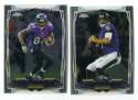 2014 Topps Chrome Football Team Set - BALTIMORE RAVENS