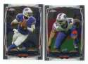 2014 Topps Chrome Football Team Set - BUFFALO BILLS