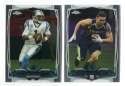2014 Topps Chrome Football Team Set - CAROLINA PANTHERS