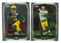 2014 Topps Chrome Football Team Set - GREEN BAY PACKERS