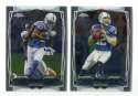 2014 Topps Chrome Football Team Set - INDIANAPOLIS COLTS
