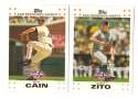 2007 Topps Opening Day - SAN FRANCISCO GIANTS Team Set