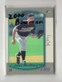 2000 Bowman - TAMPA BAY DEVIL RAYS Team Set