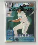 1998 Leaf Rookies and Stars (1-339) - TAMPA BAY DEVIL RAYS Team Set