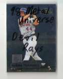 1998 METAL UNIVERSE - TAMPA BAY DEVIL RAYS Team Set