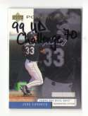 1999 UD Challengers for 70 - TAMPA BAY DEVIL RAYS Team Set