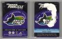 1998 Team Pinnacle TAMPA BAY DEVIL RAYS Team Set back damaged