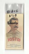 1887 Allen and Ginter N28 Reprints - Boston Beaneaters