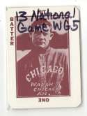 1913 National Game WG5 Reprints - CHICAGO WHITE SOX Team Set