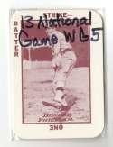 1913 National Game WG5 Reprints - PHILADELPHIA A's Team set