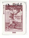 1913 National Game WG5 Reprints - PHILADELPHIA PHILLIES Team Set