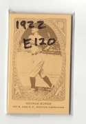 1922 American Caramel E120 Reprints - BOSTON RED SOX Team Set