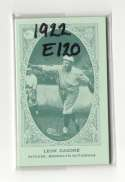 1922 American Caramel E120 Reprints - BROOKLYN DODGERS Team Set