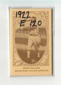 1922 American Caramel E120 Reprints - CHICAGO WHITE SOX Team Set