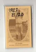 1922 American Caramel E120 Reprints - CLEVELAND INDIANS Team Set