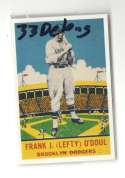 1933 DeLong (R333) Reprints - BROOKLYN DODGERS Team Set