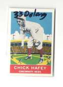 1933 DeLong (R333) Reprints - CINCINNATI REDS Team Set