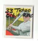 1933 Tatoo Orbits (R305) Reprints - CLEVELAND INDIANS Team Set