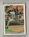 1994 Topps Bilingual VG+ condition FLORIDA MARLINS Team Set