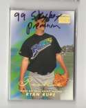 1999 SkyBox Premium w/o SP TAMPA BAY DEVIL RAYS Team Set