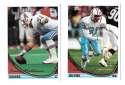 1994 Topps Football Team Set - Houston Oilers