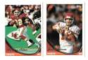 1994 Topps Football Team Set - KANSAS CITY CHIEFS