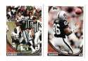 1994 Topps Football Team Set - OAKLAND RAIDERS