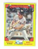 1982 Drake - CLEVELAND INDIANS Team Set