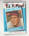 1982 K-Mart 20th Anniversary BALTIMORE ORIOLES Team Set