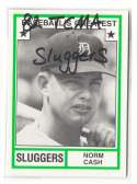 1982 TCMA Greatest Sluggers - DETROIT TIGERS Team Set