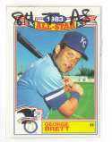 1984 Topps Glossy All-Stars - KANSAS CITY ROYALS Team Set