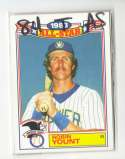 1984 Topps Glossy All-Stars - MILWAUKEE BREWERS Team Set