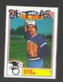 1984 Topps Glossy All-Stars - TORONTO BLUE JAYS Team Set