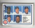 1985 Seven-Up CHICAGO CUBS Team Set