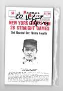 1960 Nu-Card Baseball Hi-Lites Reprints NEW YORK / SAN FRANCISCO GIANTS Team Set