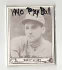 1940 Play Ball Reprints - Boston Bees / BOSTON BRAVES Team Set