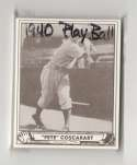 1940 Play Ball Reprints - BROOKLYN DODGERS Team Set