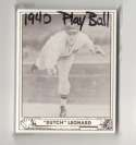 1940 Play Ball Reprints - WASHINGTON SENATORS Team Set