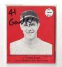 1941 Goudey Reprints (Red) - BOSTON BRAVES Team Set / Bees