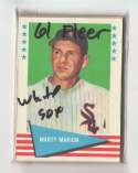1961 Fleer - CHICAGO WHITE SOX Team Set EX Condition