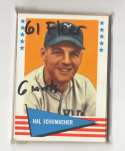1961 Fleer - SAN FRANCISCO GIANTS Team Set EX Condition