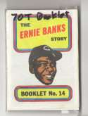 1970 Topps Booklets CHICAGO CUBS