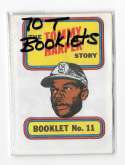 1970 Topps Booklets SEATTLE PILOTS