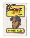 1970 Topps Booklets ATLANTA BRAVES