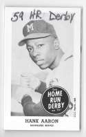1959 Home Run Derby Reprints - MILWAUKEE BRAVES Team Set