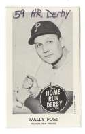 1959 Home Run Derby Reprints - PHILADELPHIA PHILLIES