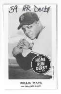 1959 Home Run Derby Reprints - SAN FRANCISCO GIANTS