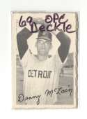 1969 O-Pee-Chee Deckle VG+ condition - DETROIT TIGERS Team Set