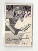 1969 O-Pee-Chee Deckle VG+ condition - MINNESOTA TWINS Team Set