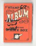 1969 Topps Stamp Album - CHICAGO WHITE SOX Team Set w / 7 stamps
